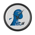 T-Rex Texting Large Wall Clock