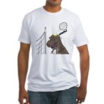 T-Rex Volleyball Fitted T-Shirt