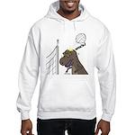 T-Rex Volleyball Hooded Sweatshirt