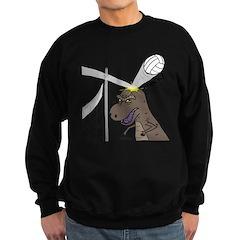 T-Rex Volleyball Sweatshirt (dark)