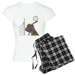 T-Rex Volleyball Pajamas