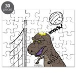 T-Rex Volleyball Puzzle