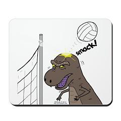 T-Rex Volleyball Mousepad