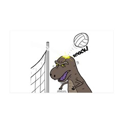 T-Rex Volleyball Wall Decal