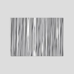 Abstract 130716(02) 5'x7'Area Rug