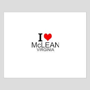 I Love McLean Virginia Posters