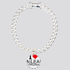 I Love McLean Virginia Bracelet