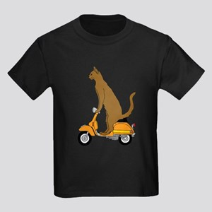 Cat On Motor Scooter T-Shirt