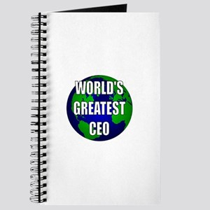 World's Greatest CEO Journal