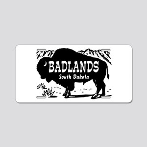 Badlands South Dakota Aluminum License Plate
