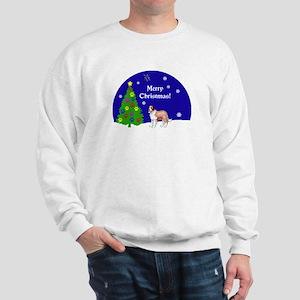 St Bernard Christmas Sweatshirt
