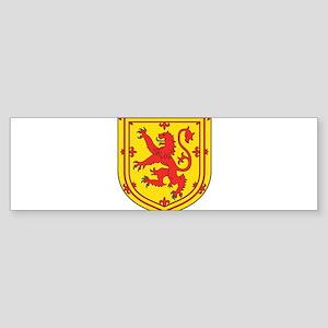 SCOTLAND COAT OF ARMS - SCOTTISH LI Bumper Sticker