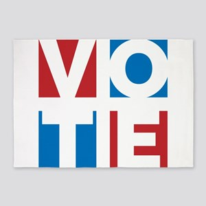 Vote in Every Election 5'x7'Area Rug