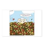 Leaves #3 Postcards (package Of 8)