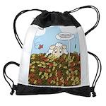 Leaves #3 Drawstring Bag