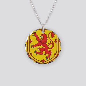SCOTLAND COAT OF ARMS - SCOT Necklace Circle Charm