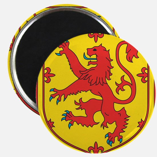 SCOTLAND COAT OF ARMS - SCOTTISH LION CRES Magnets
