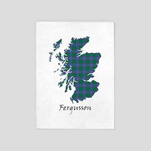 Map - Fergusson 5'x7'Area Rug
