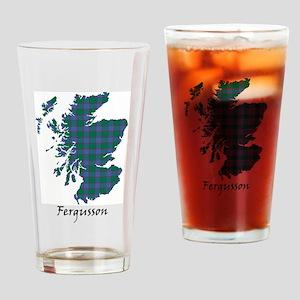 Map - Fergusson Drinking Glass