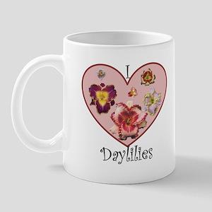 I Love Daylilies Mug