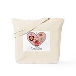 I Love Daylilies Tote Bag