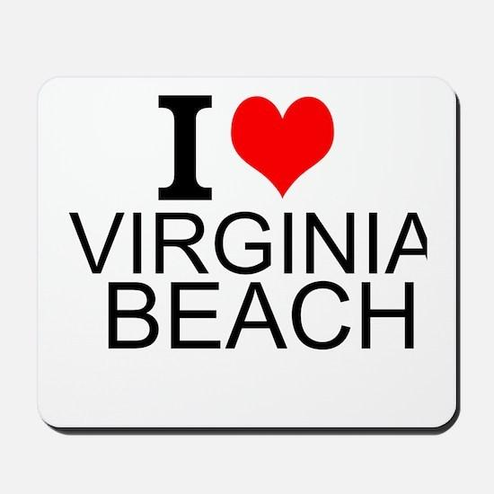 I Love Virginia Beach Mousepad
