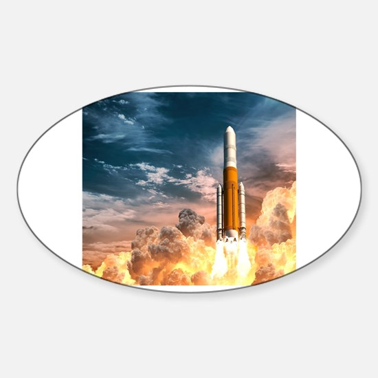 Funny Booster Sticker (Oval)