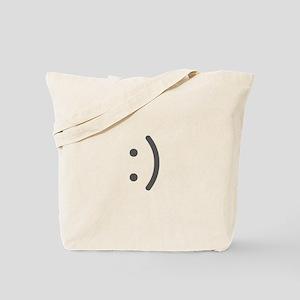 Smily Face Tote Bag