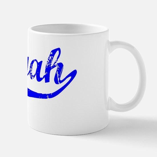 Saniyah Vintage (Blue) Mug