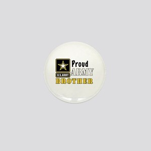 Army Brother Mini Button