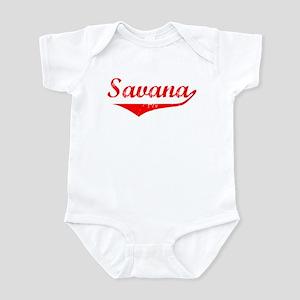 Savana Vintage (Red) Infant Bodysuit