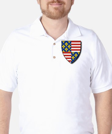 Charles Martel - Coat of Arms Golf Shirt