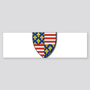 Charles Martel - Coat of Arms Bumper Sticker