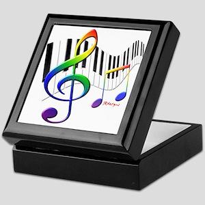 Keyboard Keepsake Box