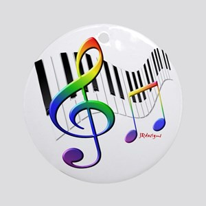 Keyboard Ornament (Round)