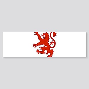 LION RAMPANT Bumper Sticker