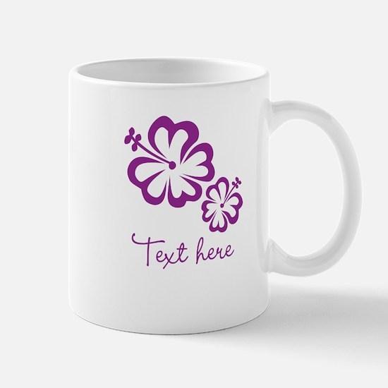 Custom Flower Design Mugs