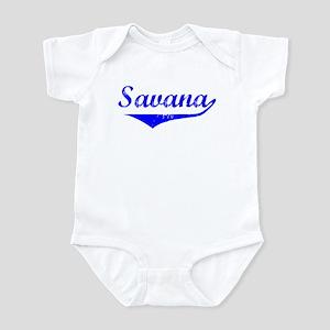 Savana Vintage (Blue) Infant Bodysuit