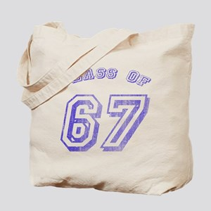 Class Of 67 Tote Bag