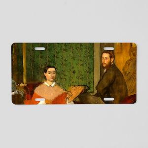 Edmondo and Thérèse Morbilli by Edgar Degas Alumin