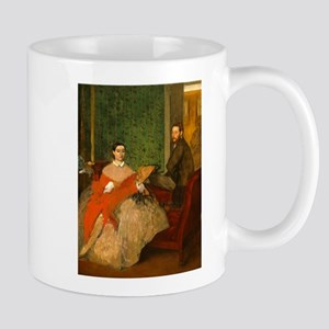Edmondo and Thérèse Morbilli by Edgar Degas Mugs