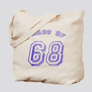 Class Of 68 Tote Bag