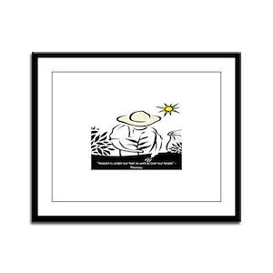 Heaven - Thoreau Framed Panel Print