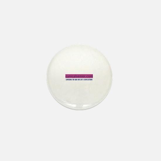 Cynicalsenior lower bar Mini Button