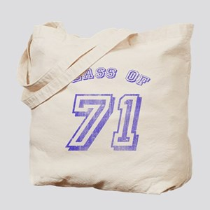 Class Of 71 Tote Bag