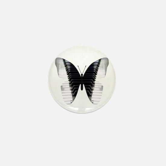 Butterfly Piano Mini Button