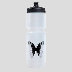 Butterfly Piano Sports Bottle