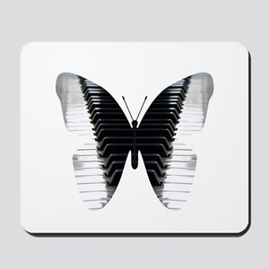 Butterfly Piano Mousepad