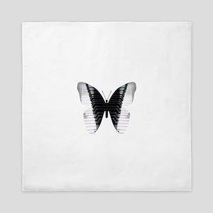 Butterfly Piano Queen Duvet