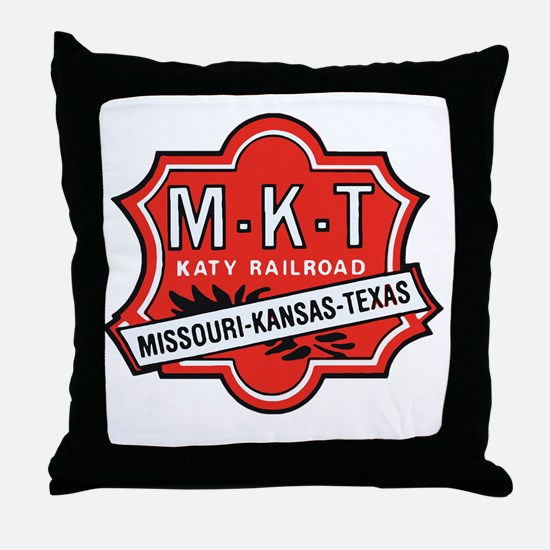 Funny Station Throw Pillow